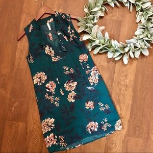 Xhilaration - Flower patterned dress with pockets